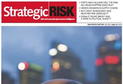 StrategicRISK Asia-Pacific Q4 2016 cover