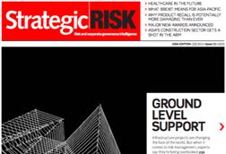 StrategicRISK Asia-Pacific Q3 2016 cover