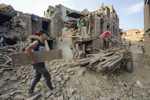 Nepal, earthquake, nat cat